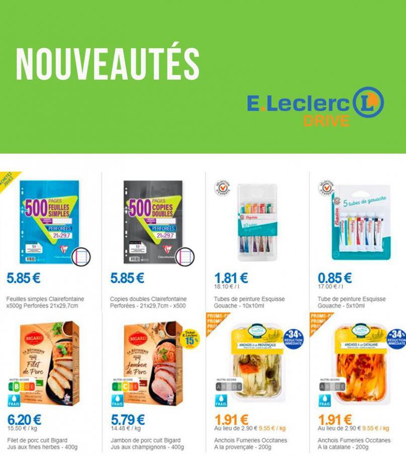 Nouveautés . E.Leclerc Drive (2020-09-07-2020-09-07)