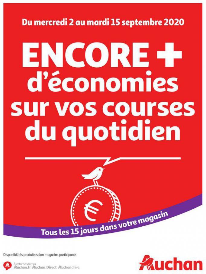 Des économies au quotidien . Auchan (2020-09-15-2020-09-15)