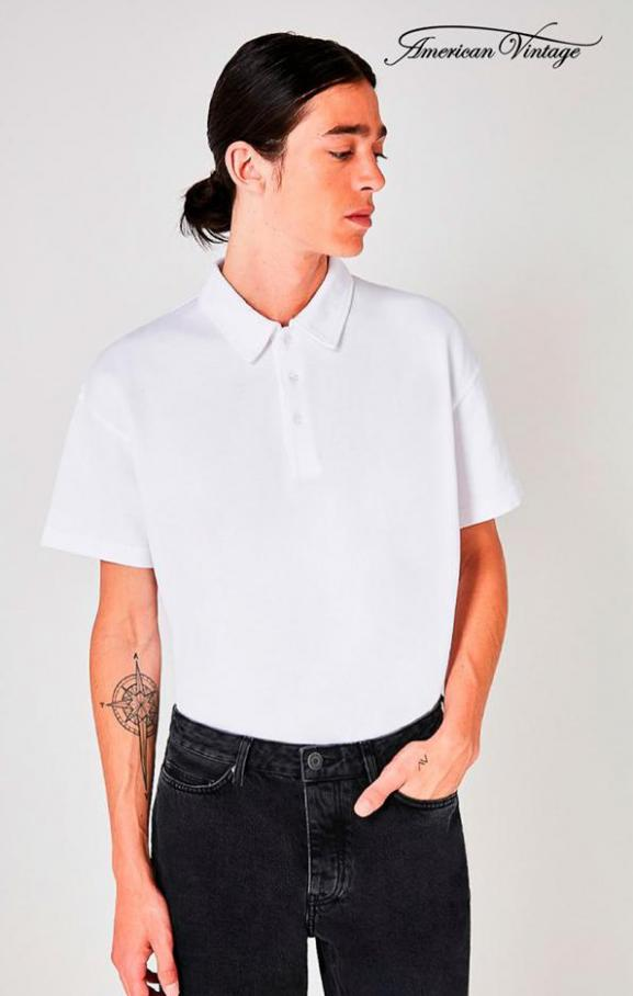 Collection Polos & T-Shirts / Homme . American Vintage (2020-10-16-2020-10-16)