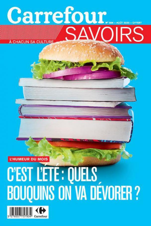 Savoirs Aout . Carrefour (2020-08-31-2020-08-31)