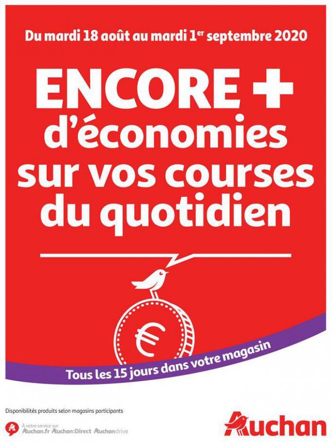Des économies au quotidien . Auchan (2020-09-01-2020-09-01)