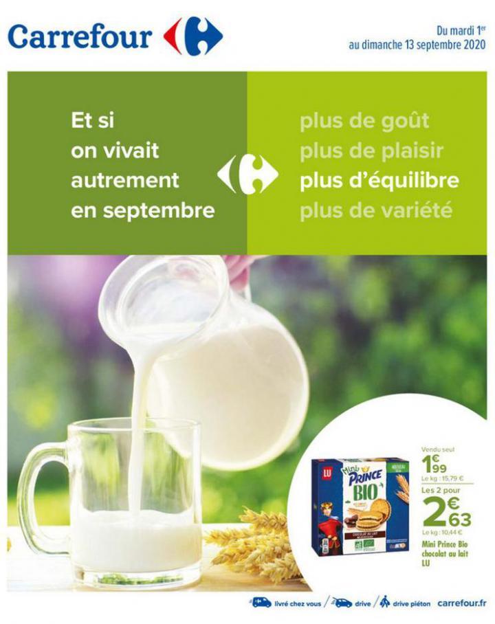 Manger sain septembre . Carrefour (2020-09-13-2020-09-13)