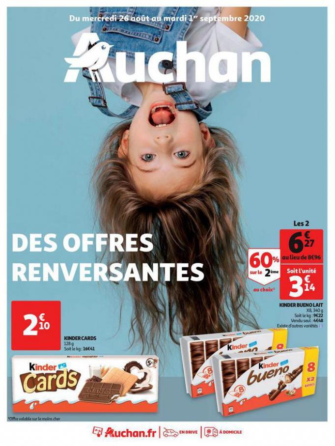 Des offres renversantes . Auchan (2020-09-01-2020-09-01)