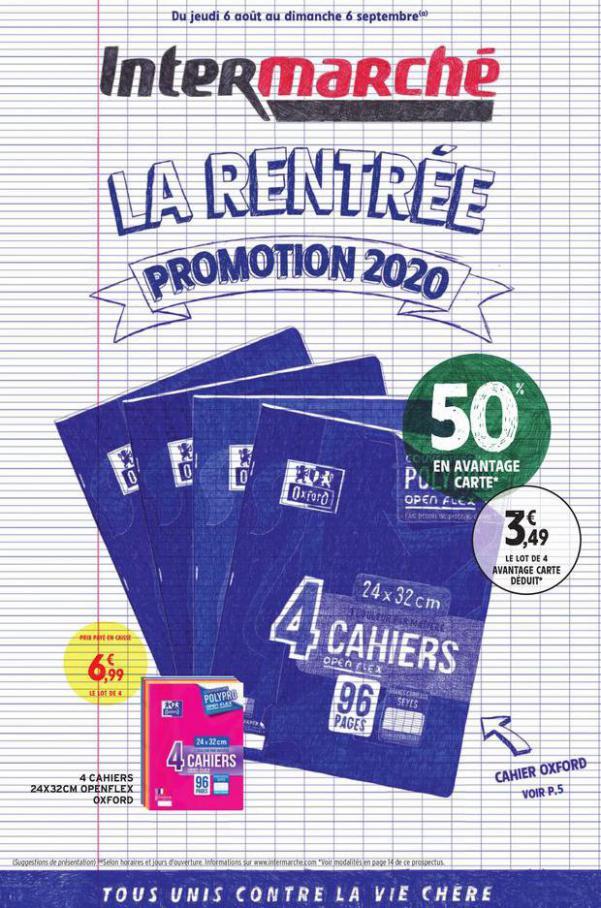 La rentrée promotion 2020 . Intermarché Express (2020-09-06-2020-09-06)