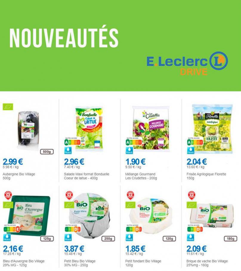 Nouveautés . E.Leclerc Drive (2020-10-19-2020-10-19)