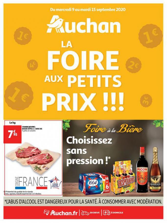 La foire aux petits prix !!! . Auchan Direct (2020-09-15-2020-09-15)