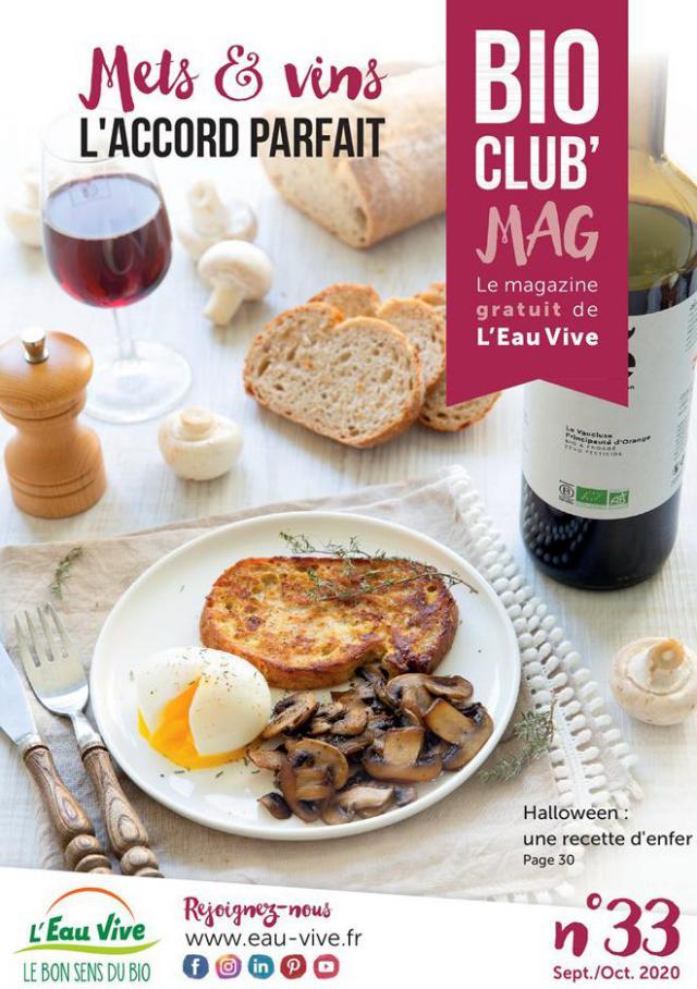 Bio Club Mag . L'Eau Vive (2020-10-31-2020-10-31)