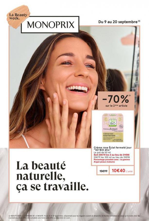 La Beauty week . Monoprix (2020-09-20-2020-09-20)