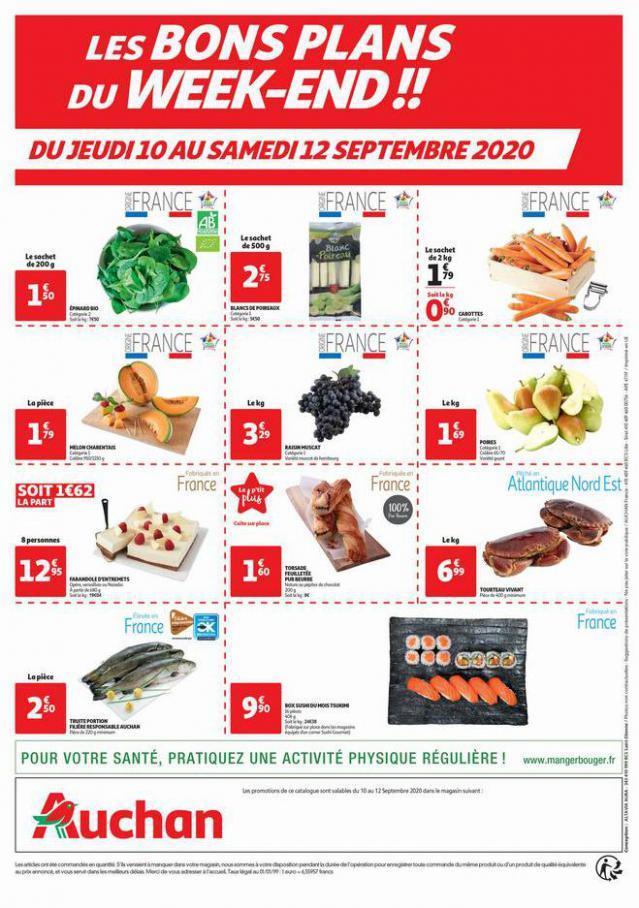 Les bons plans du weekend . Auchan (2020-09-12-2020-09-12)