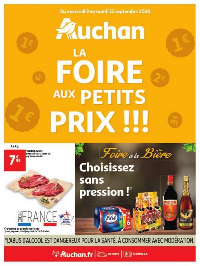 La Foire aux petits prix ! . Auchan (2020-09-15-2020-09-15)
