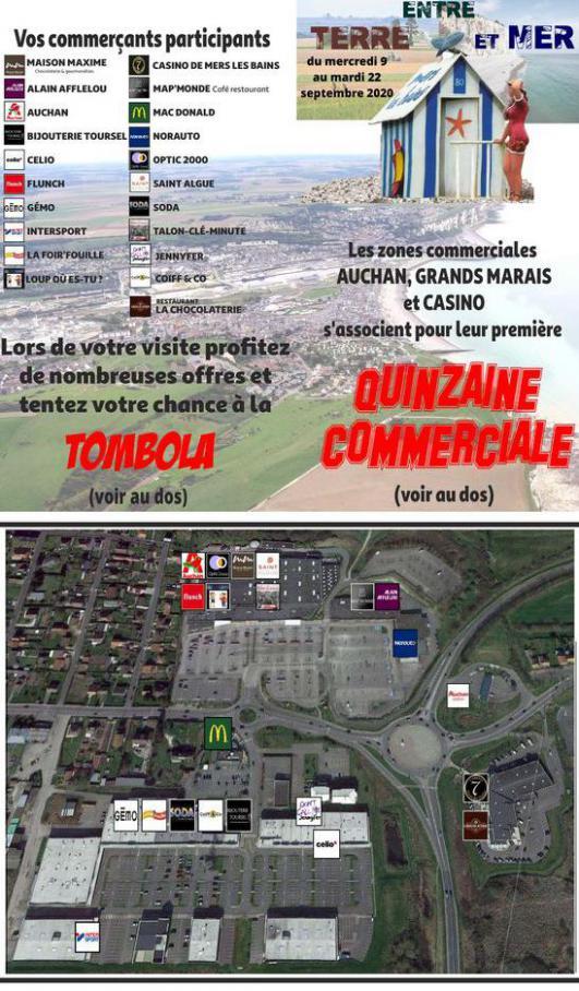 Quinzaine commerciale . Auchan Direct (2020-09-22-2020-09-22)