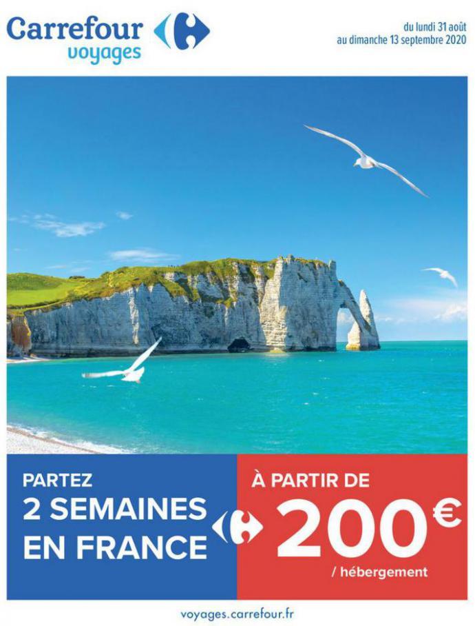 Partez 2 semaines en France . Carrefour (2020-09-13-2020-09-13)