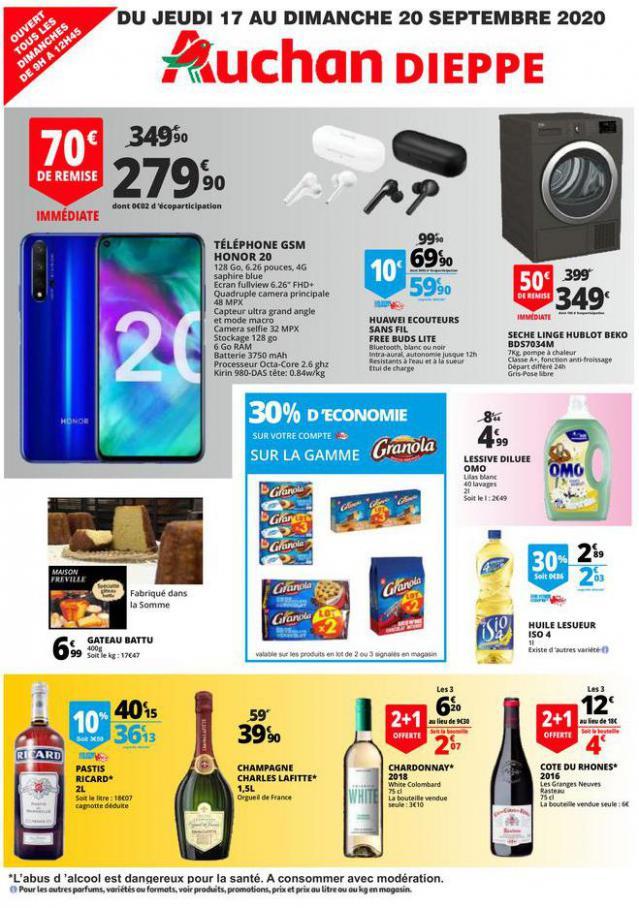 TRACT DU 17 AU 20 SEPTEMBRE . Auchan Direct (2020-09-20-2020-09-20)