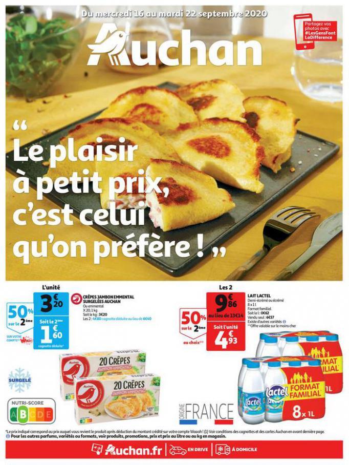 Catalogue Auchan . Auchan (2020-09-22-2020-09-22)
