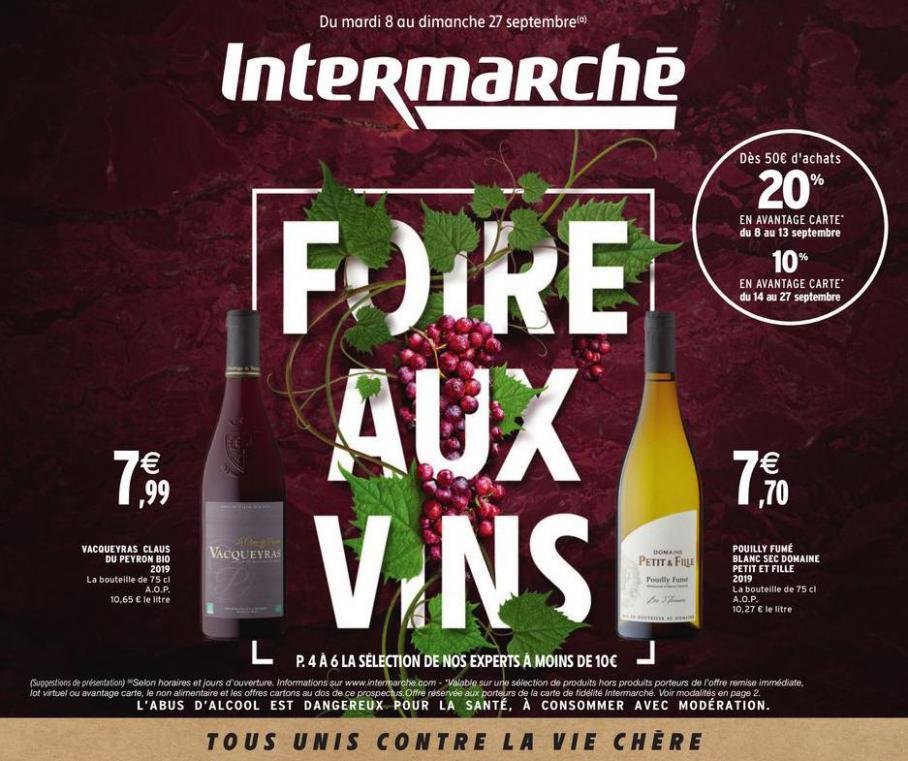 Foire aux vins . Intermarché (2020-09-27-2020-09-27)