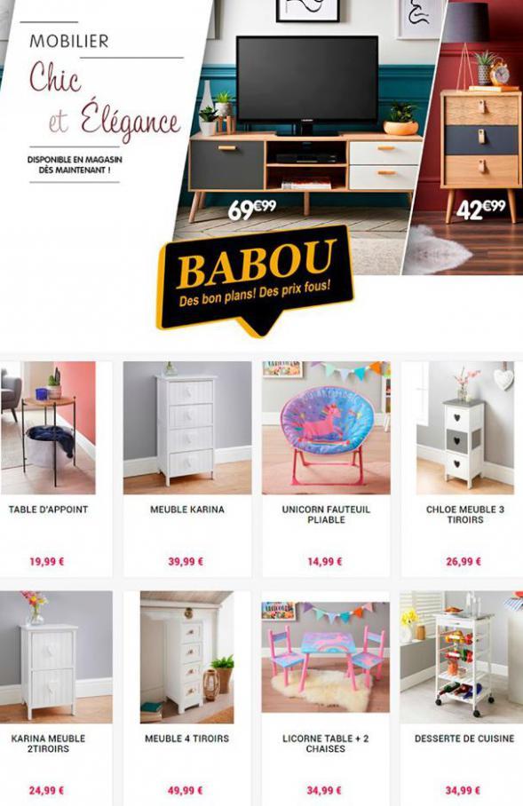 Mobilier Chic et Élégance . Babou (2020-10-16-2020-10-16)