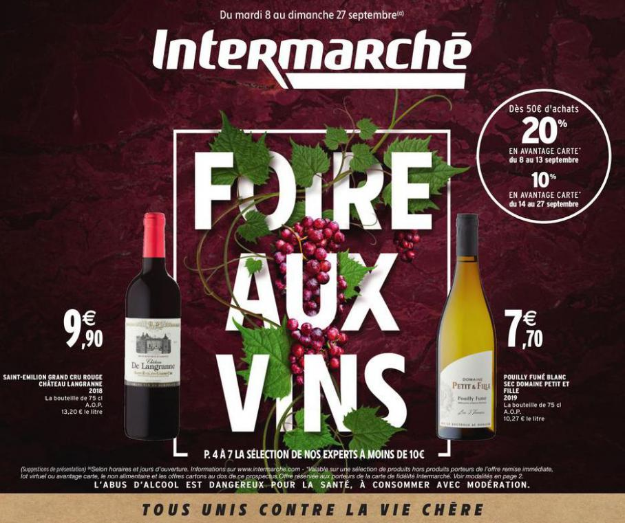 Foire aux vins . Intermarché Hyper (2020-09-27-2020-09-27)