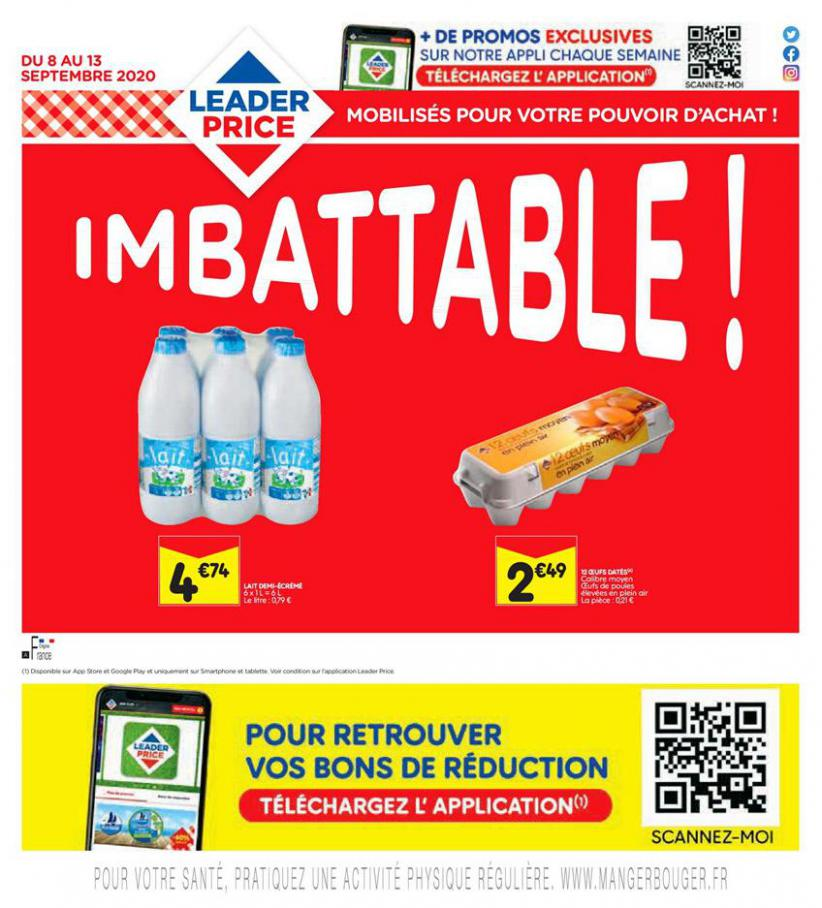 Imbattable! . Leader Price (2020-09-13-2020-09-13)