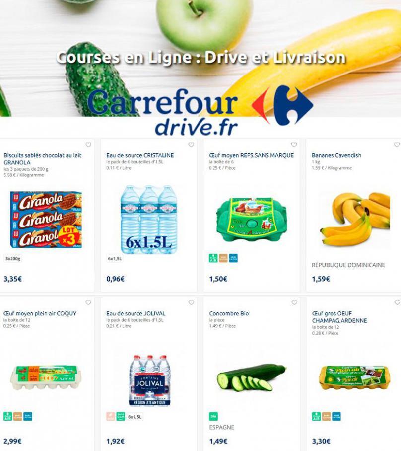 Offres Carrefour Drive . Carrefour Drive (2020-10-06-2020-10-06)