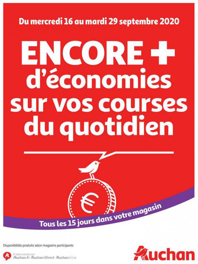 Des économies au quotidien . Auchan (2020-09-29-2020-09-29)