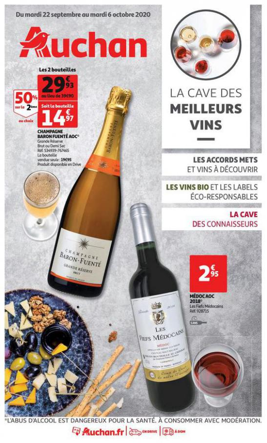 La cave des meilleurs vins  . Auchan (2020-10-06-2020-10-06)