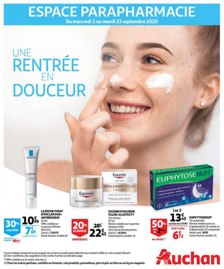 Une rentrée en douceur . Auchan Direct (2020-09-22-2020-09-22)