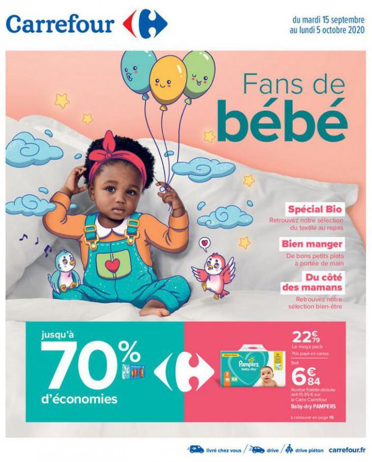 Fans de bébé . Carrefour (2020-10-05-2020-10-05)