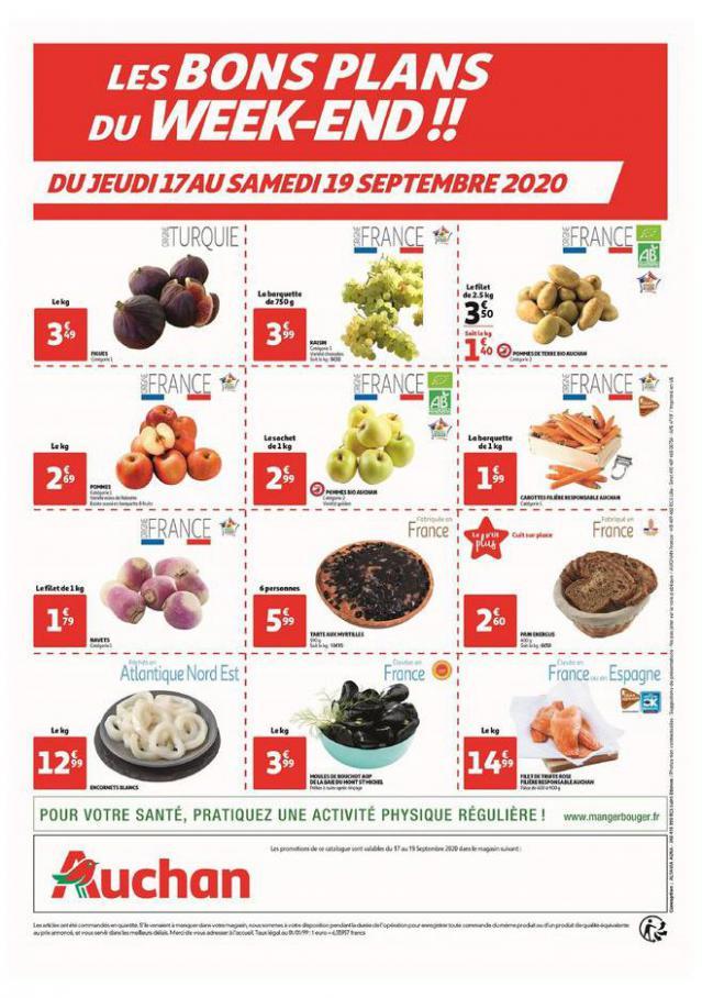 Les bons plans du week-end !! . Auchan (2020-09-19-2020-09-19)