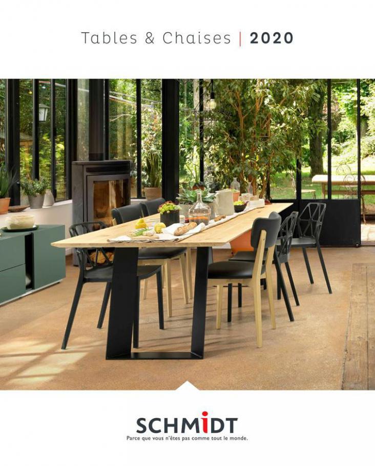 Les tables et chaises 2020 . Cuisines Schmidt (2020-12-31-2020-12-31)
