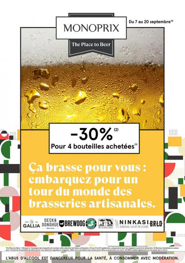 The Place to Beer . Monoprix (2020-09-20-2020-09-20)