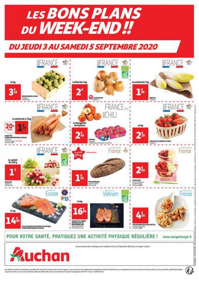 Les bons plans du week-end . Auchan Direct (2020-09-05-2020-09-05)