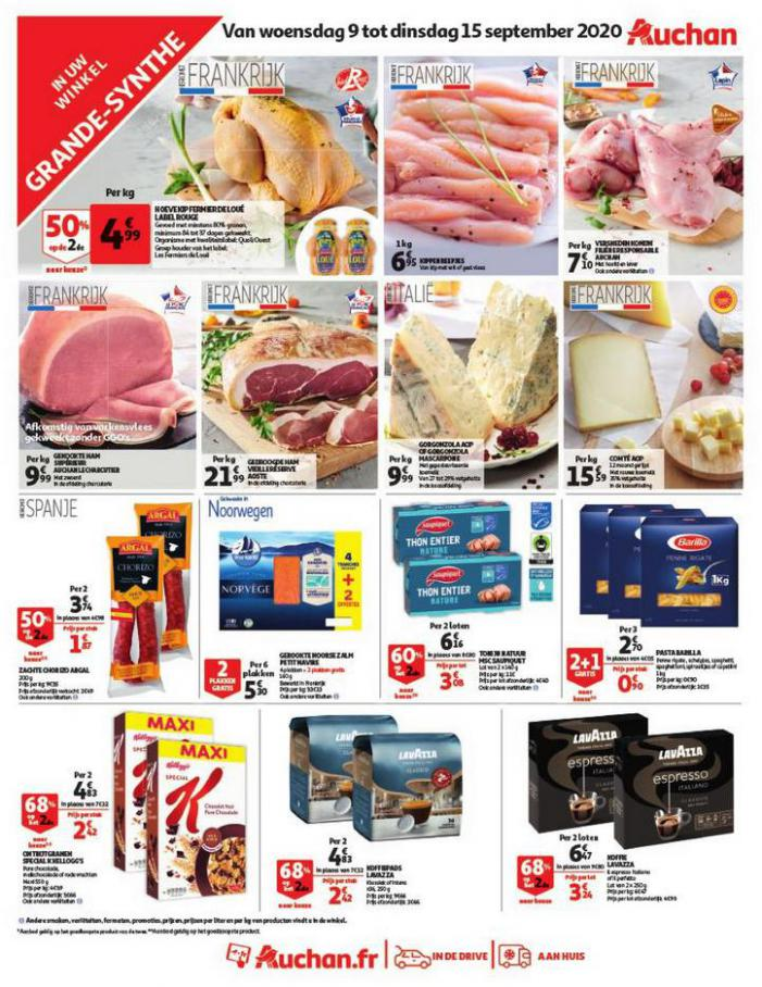 Sélection spéciale . Auchan Direct (2020-09-15-2020-09-15)
