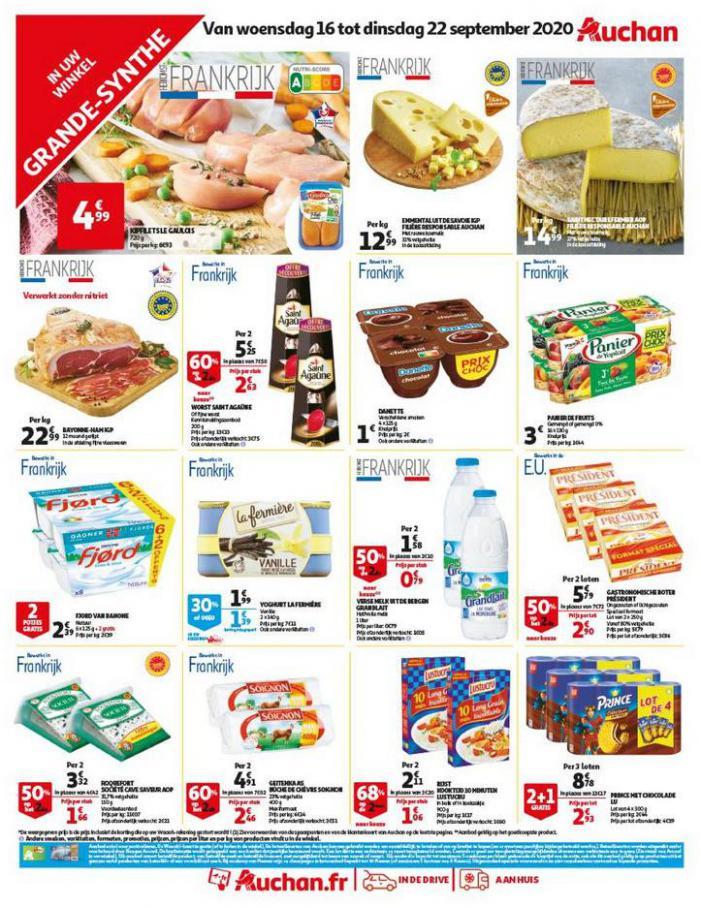 Sélection spéciale . Auchan Direct (2020-09-22-2020-09-22)