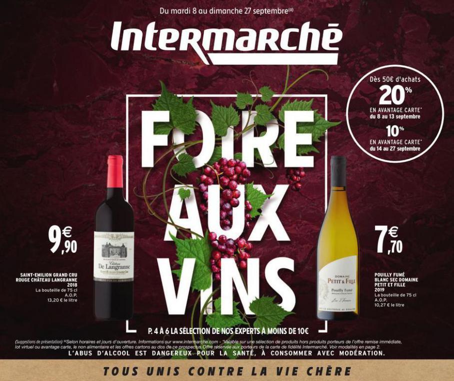Foire aux vins . Intermarché Express (2020-09-27-2020-09-27)