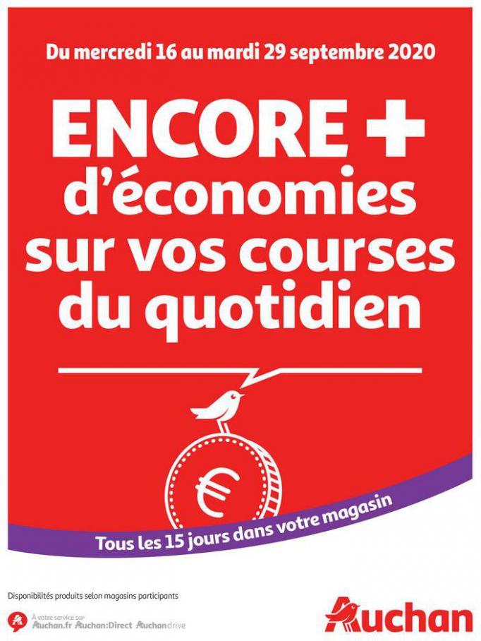 Des économies au quotidien . Auchan Direct (2020-09-29-2020-09-29)