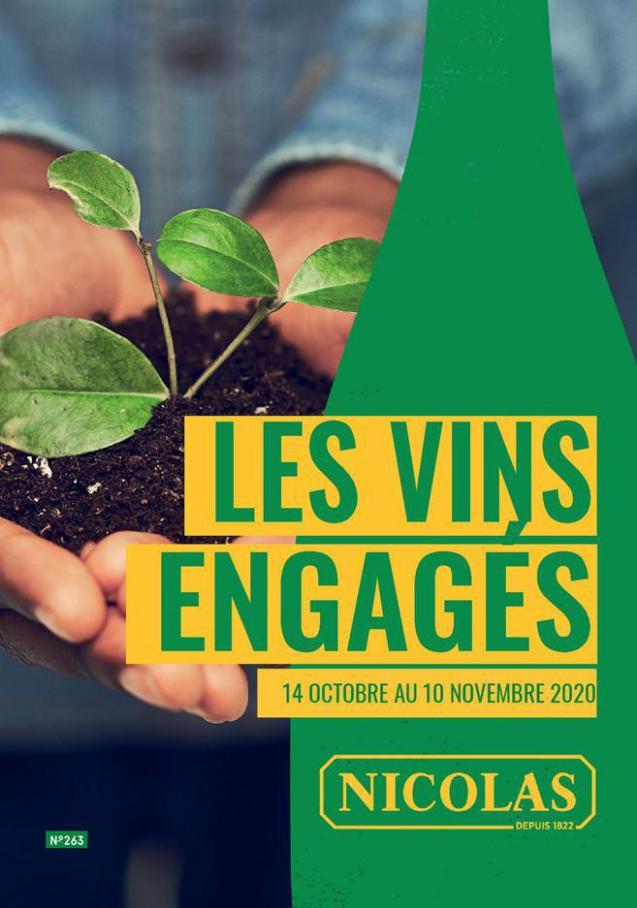 Les vins engagés . Nicolas (2020-11-10-2020-11-10)