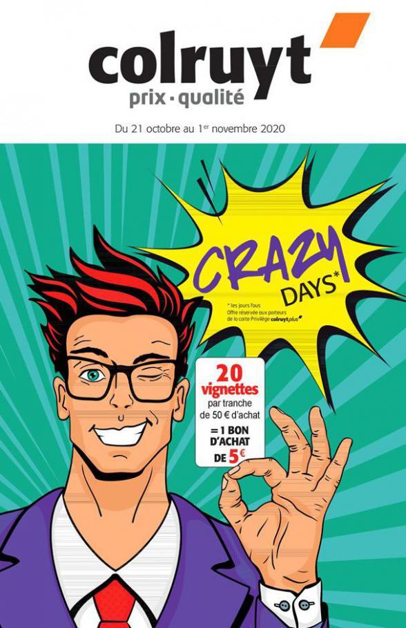 Crazy Days! . Colruyt (2020-11-01-2020-11-01)