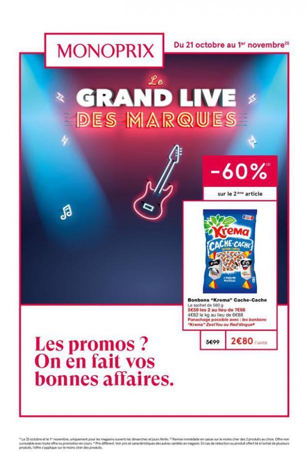 Le grand live des marques . Monoprix (2020-11-01-2020-11-01)
