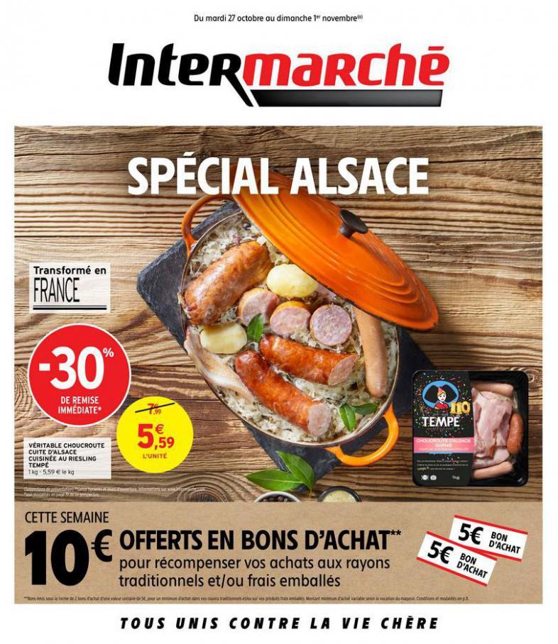 SPÉCIAL ALSACE . Intermarché Express (2020-11-01-2020-11-01)