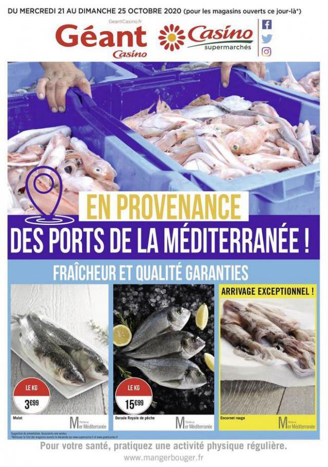 Fraîcheur et qualité garanties . Casino Supermarchés (2020-10-25-2020-10-25)