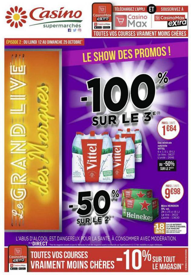 Le show des promos ! . Casino Supermarchés (2020-10-25-2020-10-25)