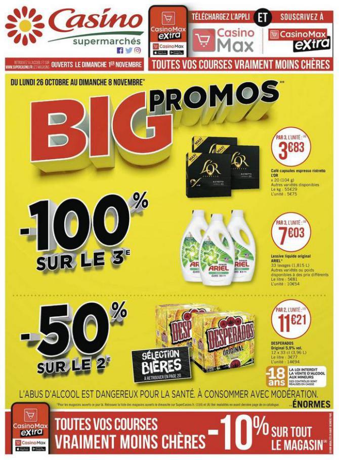 Big promos . Casino Supermarchés (2020-11-08-2020-11-08)