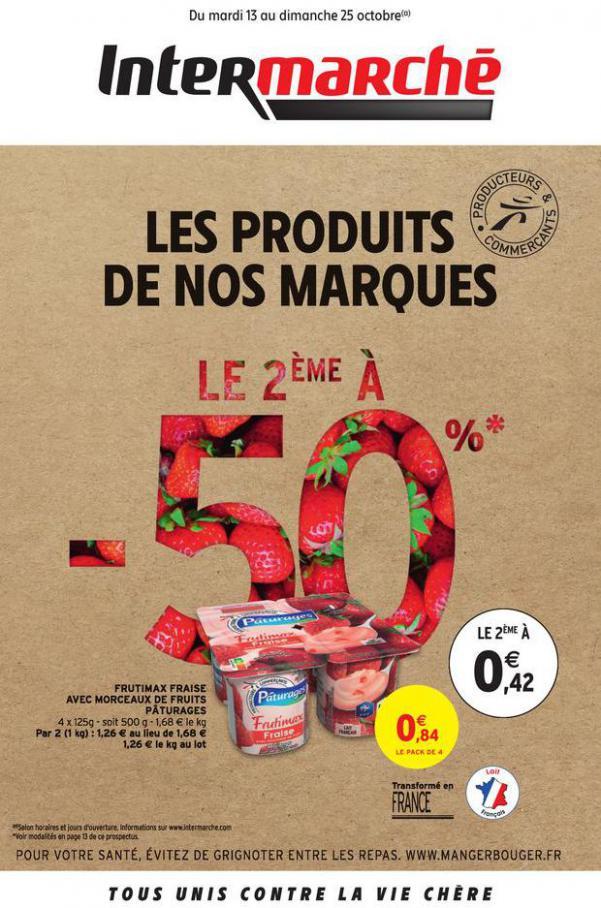 LES PRODUITS DE NOS MARQUES . Intermarché Express (2020-10-25-2020-10-25)