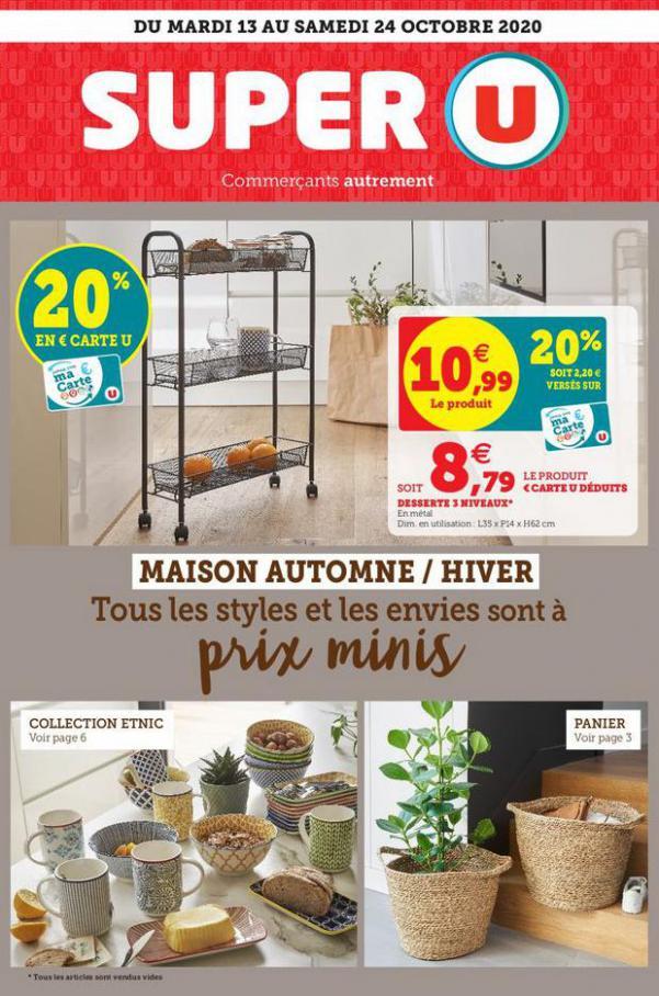 Catalogue Super U . Super U (2020-10-24-2020-10-24)