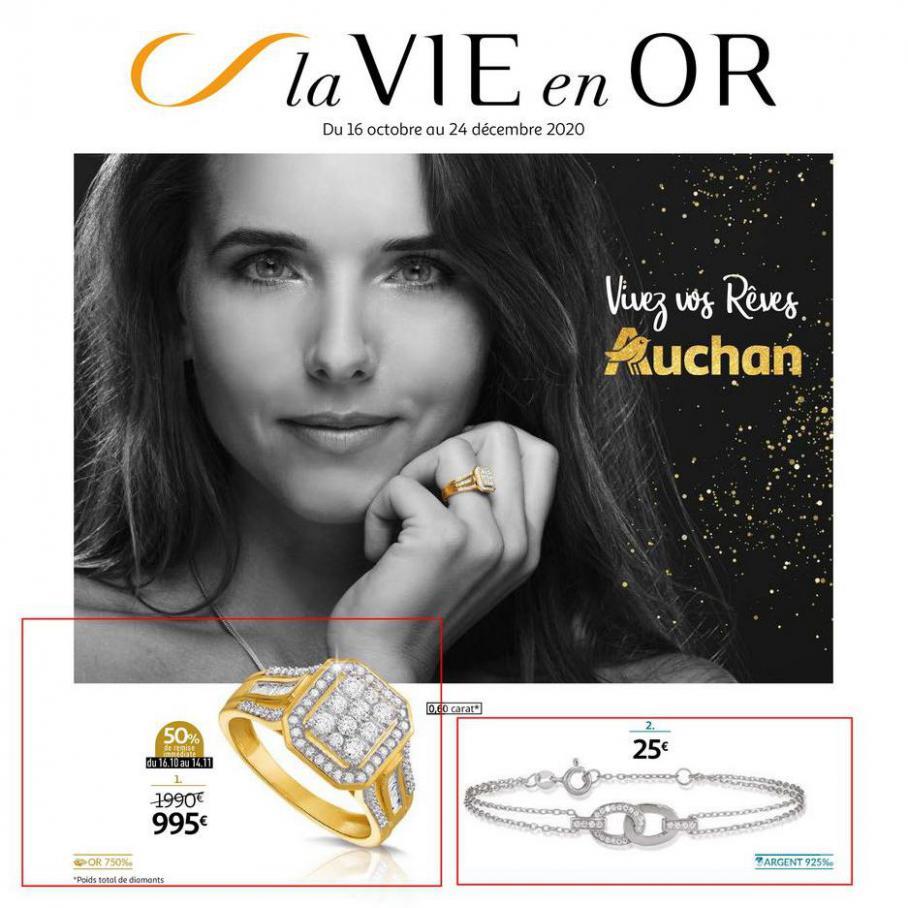 La vie en or . Auchan (2020-12-24-2020-12-24)
