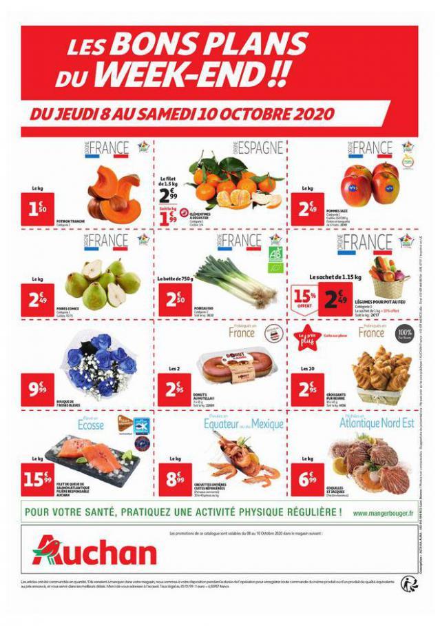 Les bons plans du week-end  . Auchan (2020-10-10-2020-10-10)