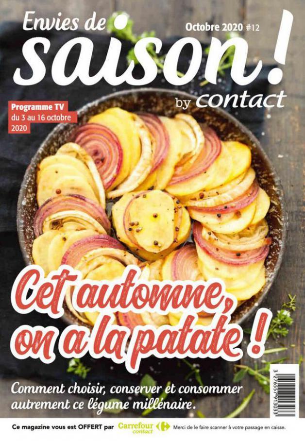 Contact Bi-mensuel S42/S43 . Carrefour Contact (2020-10-16-2020-10-16)
