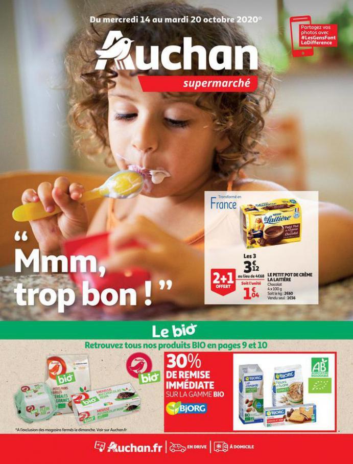 Mmm, trop bon ! . Auchan (2020-10-20-2020-10-20)