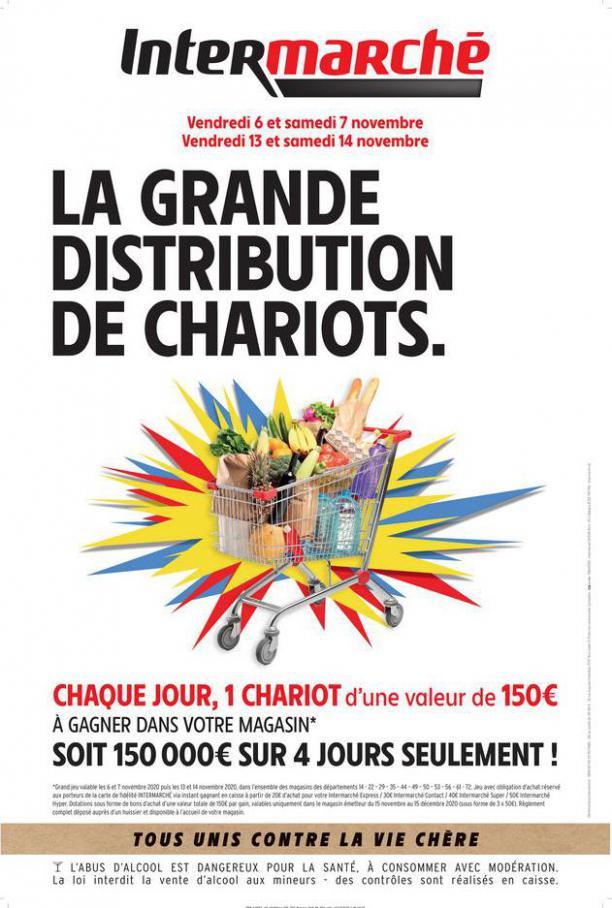 LA GRANDE DISTRIBUTION DE CHARIOTS . Intermarché Hyper (2020-11-14-2020-11-14)