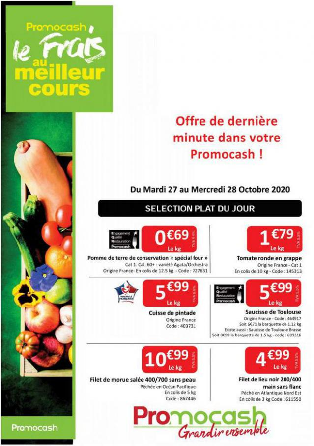 Catalogue Promocash . Promocash (2020-10-28-2020-10-28)